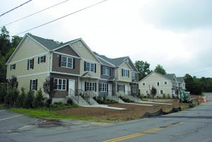 Affordable housing is being built on Old Route 22 in Armonk. Andrew Vitelli Photos.
