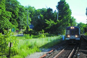 The proposed site of Chappaqua Station has drawn opposition from a wide segment of New Castle residents and officials. Photo by Andrew Vitelli