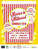 "Aug. 19 Showing for ""Movies in Millwood"""