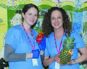 Maria Simonetti, Director NWH Community Health Education & Outreach, with Program Coordinator, Amy Rosenfeld, RD.