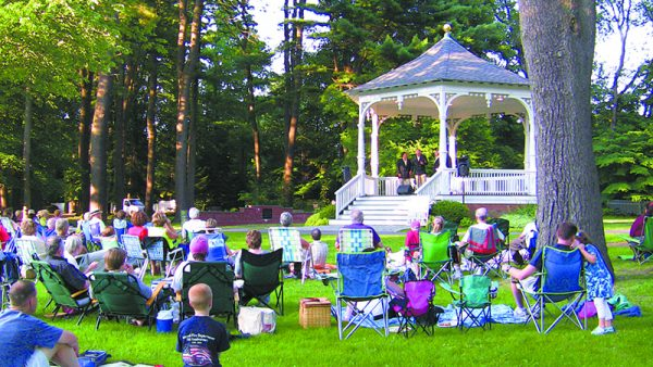 The Small Town Theatre Company Summer Concert. Sam Morell Photo.