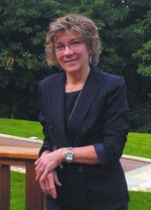 North Castle Public Library Director Edie Martimucci