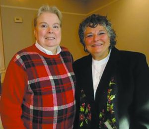 Rev. Dr. Jacobs with her partner Pat Youst
