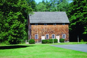The Quaker Meeting House, located behind Smith's Tavern.