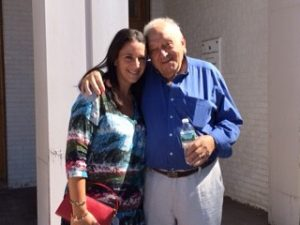 Chappaqua Resident Meryl Lefkowitz with her great uncle Michael Stoll, a Bielski partisan