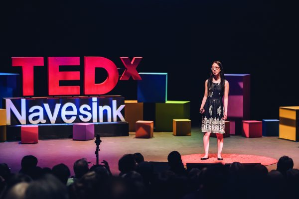 Anna Zhang has spoken at three TEDx events, including TEDxNavesink, one of the largest TEDx conferences along the East Coast. PHOTOS COURTESY OF ANNA ZHANG