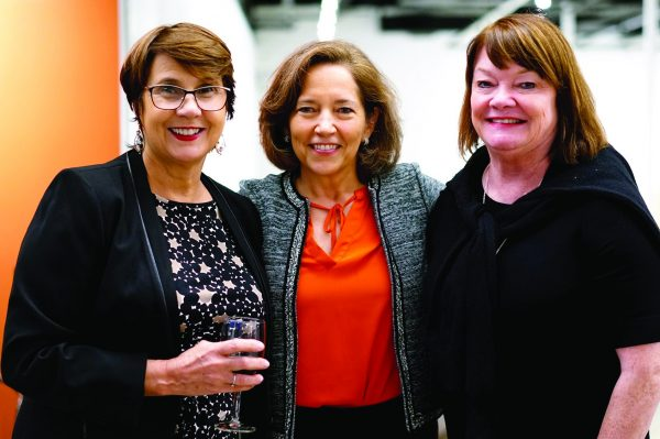 Judy Murphy, Sleepy Hollow (co-chair, Latin Links), Carola Bracco, Kathy Colby (co-chair, Latin Links), Chappaqua