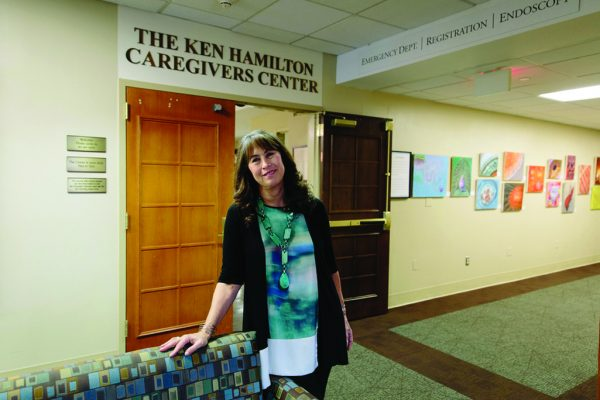 Marian Hamilton founded the Ken Hamilton Caregivers Center in 2006.