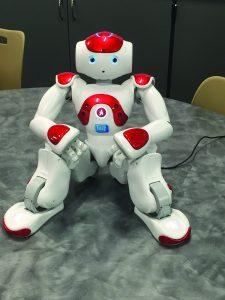 Robot. Photos by Matt Smith