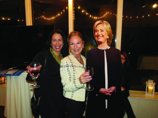 (ABOVE): Melissa Cotto (left) with Virginia Shasha