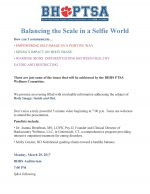 Balancing the Scales in a Selfie World:  March 20 at Byram Hills High School