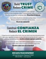 """New Castle Police Promise: """"We will not ask about someone's Immigration Status"""""""