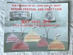 Three-Day Spring Festival and Craft Fair at The Church of St. John and St. Mary, May 19-21