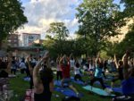 A Summer Solstice and 'Interconnected' Energy at the On Your Mat For Mental Health Yoga Event!