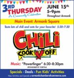 Chili Cook-Off's the Main Event in Second 3rd Thursday in Armonk