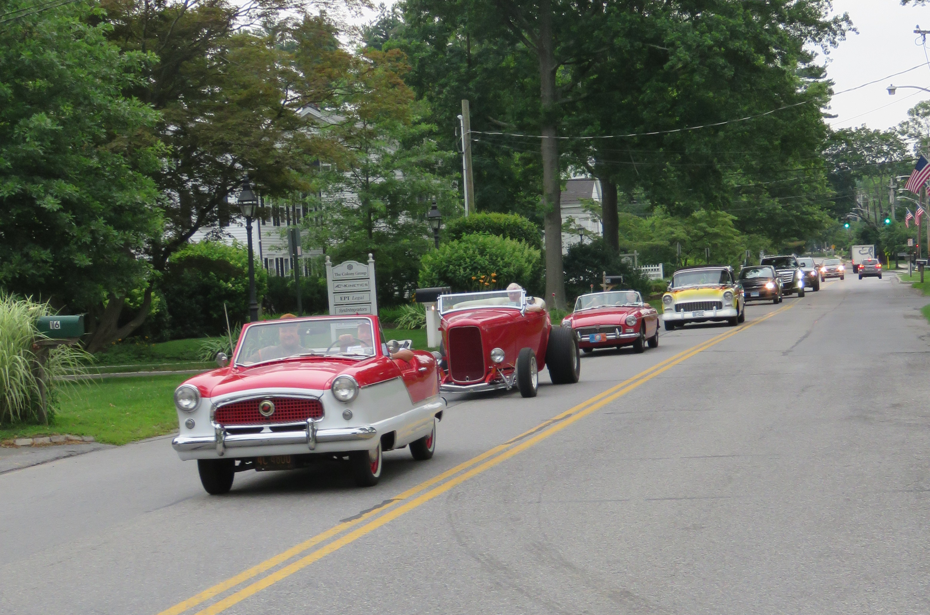 At 3rd Thursday: 35 Classic Cars Parade Proudly 'Round