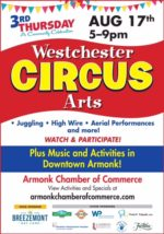 Westchester Circus Arts: Aerial Performances and More for Last Third Thursday