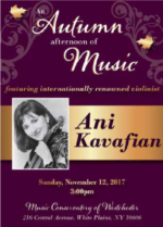 Classical Music on an Autumn Afternoon with Ani Kavafian