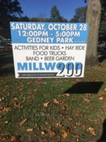 200th Year Celebration of Millwood Set for October 28th