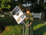 Celebrating 100 Years of Women's Suffrage Inside Greeley's Garden