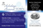 'Holidays Around Town,' December 1-3, to Celebrate Art, Music…and Community!