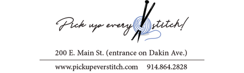 Pick Up Every Stitch