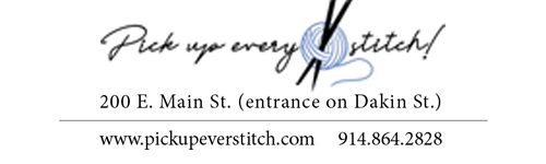 Pick Up Every Stitch