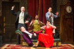 Zany Fun at 'The Play That Goes Wrong'… Just Look Up First!
