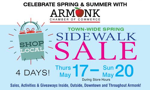 Armonk Chamber: Sidewalk Sale