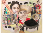 Winners and Finalists in Music Conservatory 'Colors of Music' Mural Art Contest!