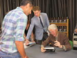 Bill Clinton Delivers at Chappaqua Library Signing for 'The President is Missing'