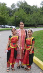 Enjoying 'India Day' at Chappaqua's First Congregational Church