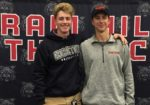 Byram Hills Celebrates Two Athletes Committed to Playing at Division I Universities